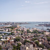 View from atop Bunker Hill Monument