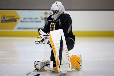 Boston Bruins' captains practice090717