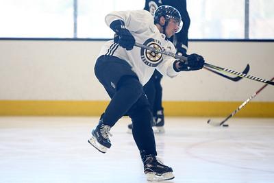 Boston Bruins practice022718