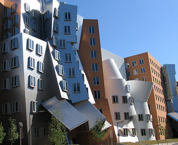 Stata Center at MIT (Vassar St. View)