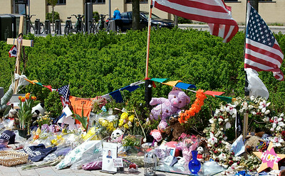 Memorial to slain MIT policeman Sean Collier