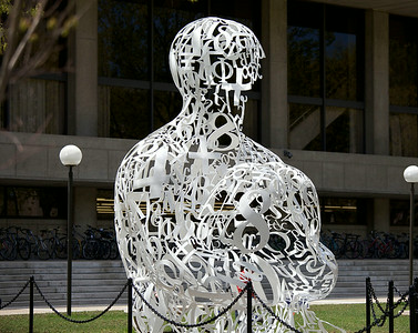 Alchemist, a sculpture at MIT by Jaume Plensa