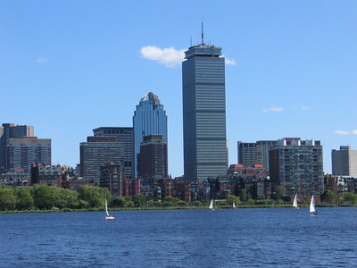 Boston and Charles River