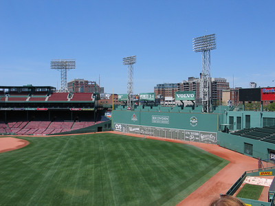 The Green Monster of Fenway Park