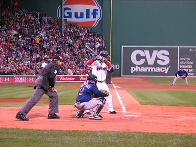 Manny Ramirez at bat