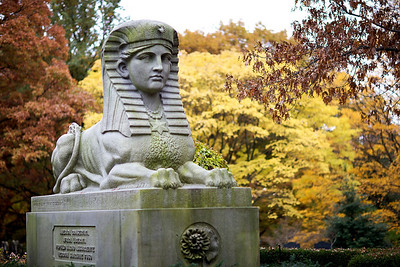 Civil War Monument by Martin Milmore in Mt. Auburn Cemetery
