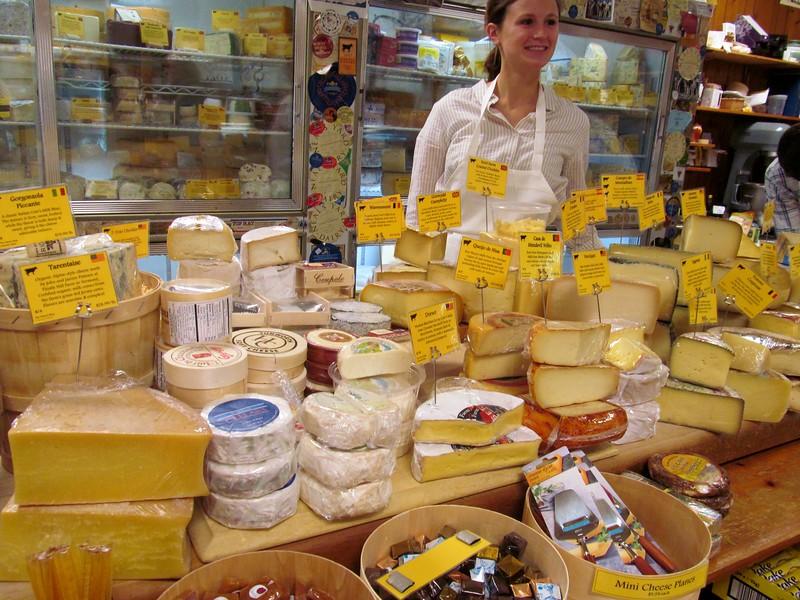 World Famous Cheese Shop in Lexington