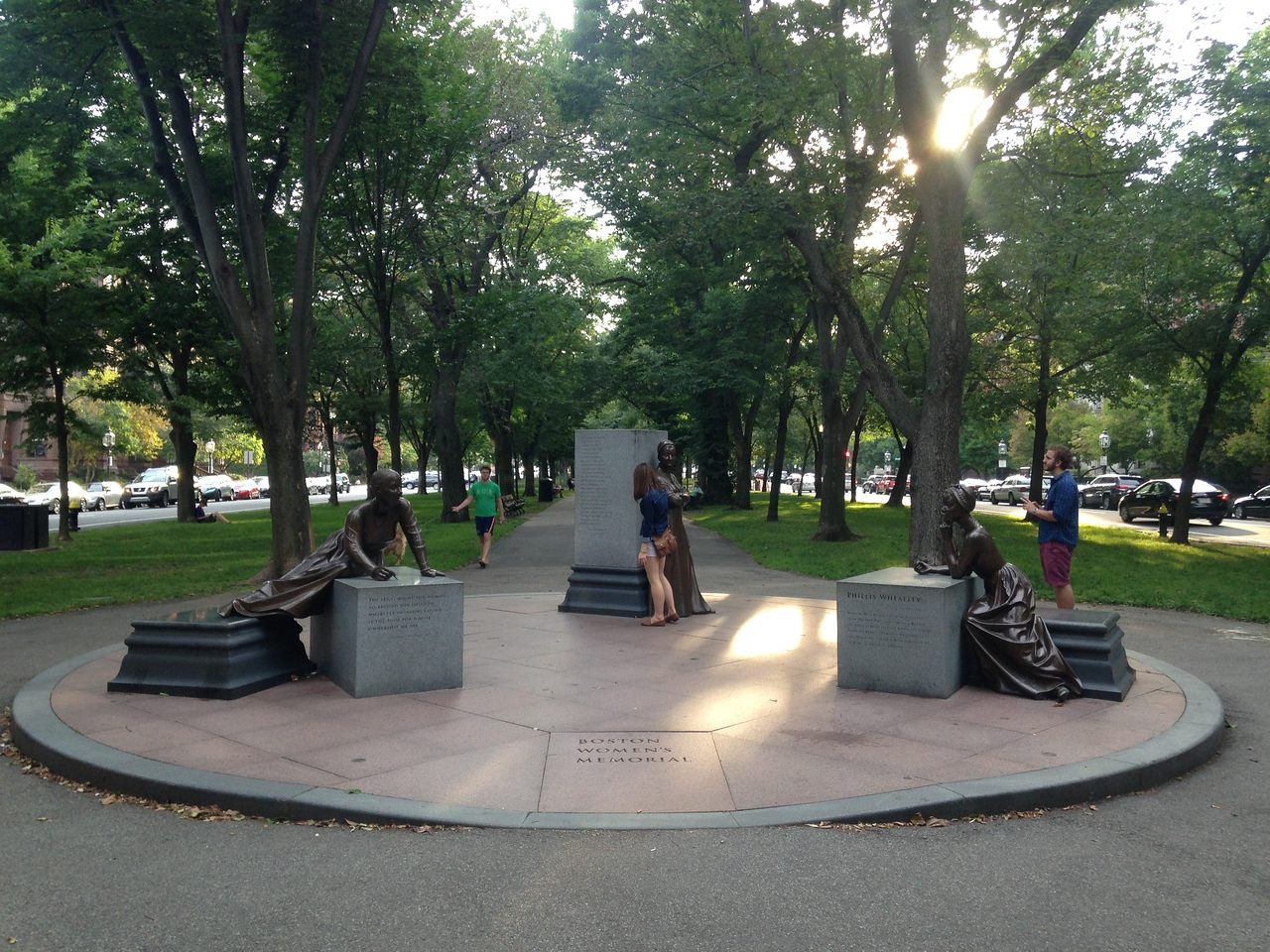 Boston Women's Memorial.