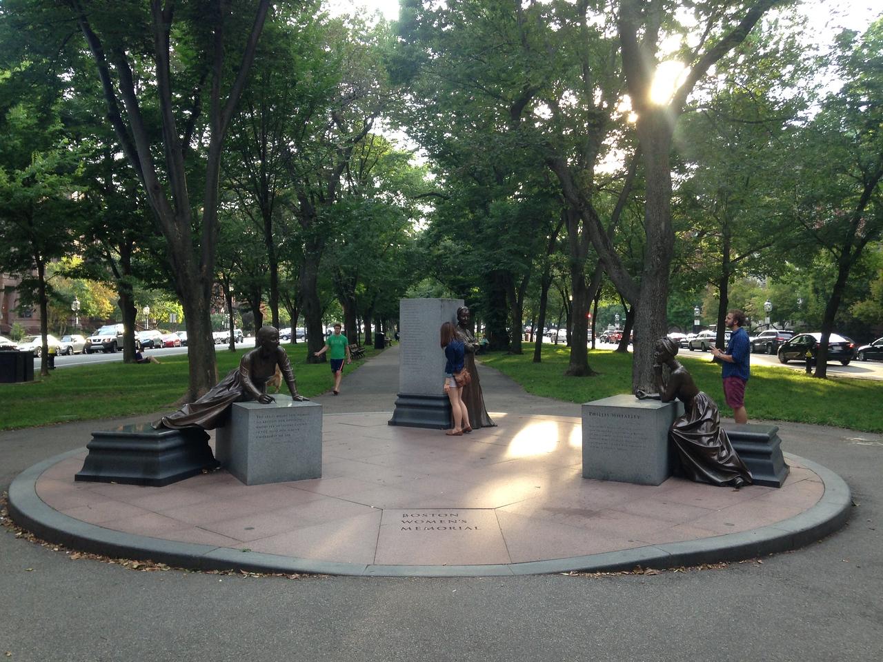 Boston Women's Memorial.