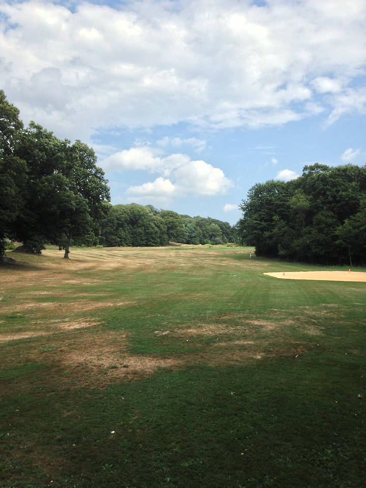 Another view of the golf course at Franklin Park.