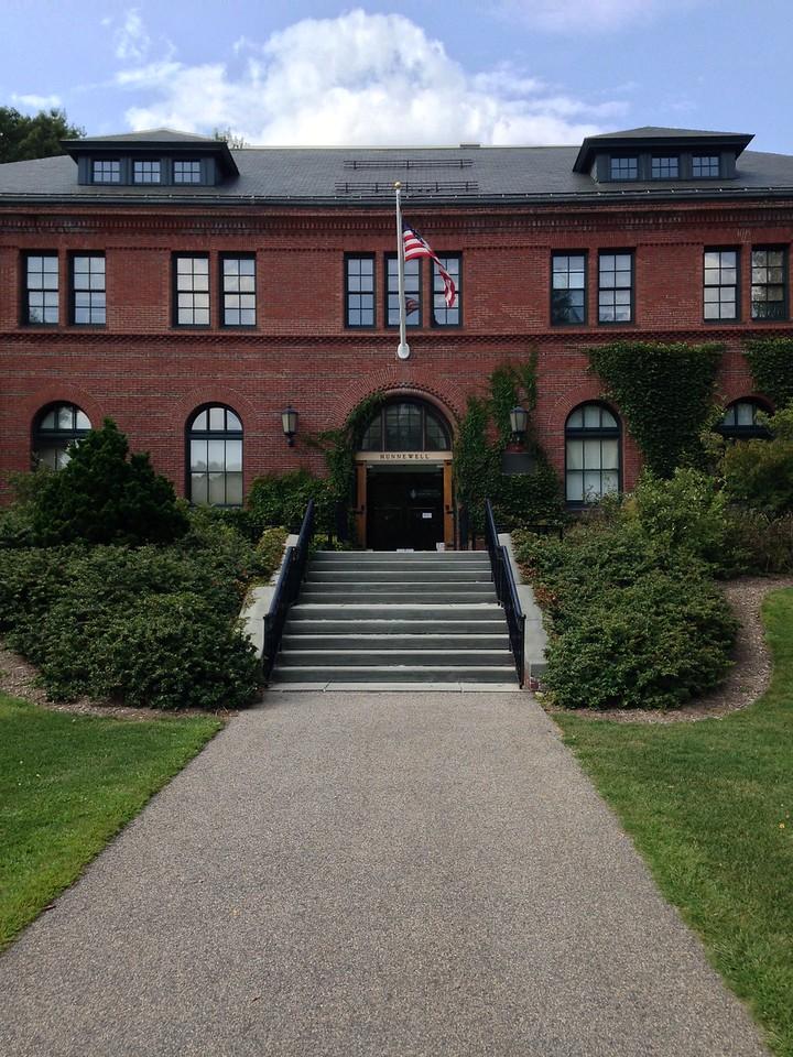 Visitor Center at Arnold Arboretum.