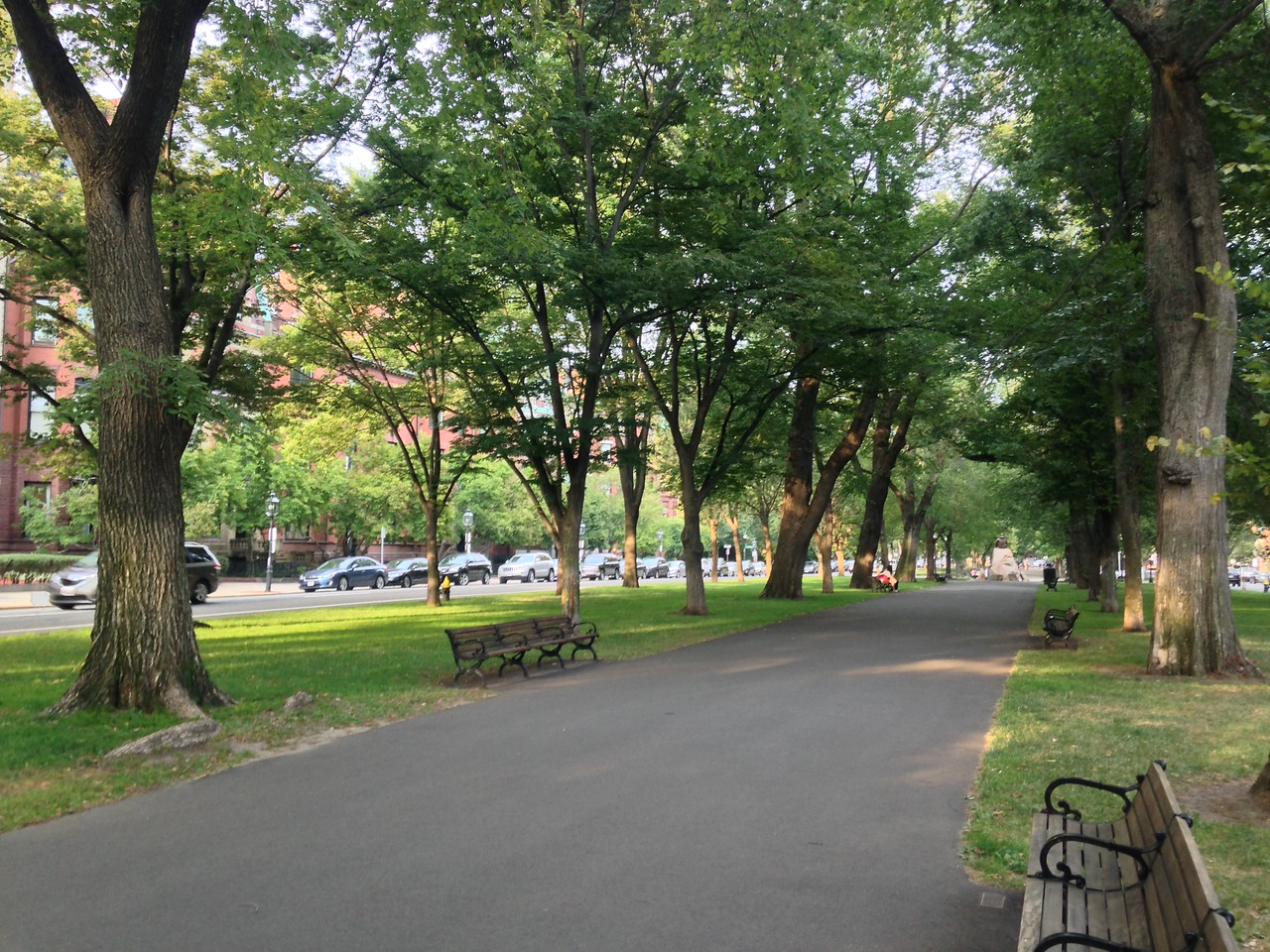 Commonwealth Ave Mall