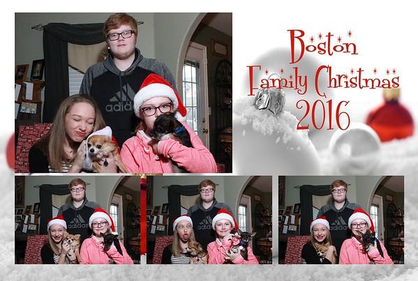 Boston Family Christmas 2016