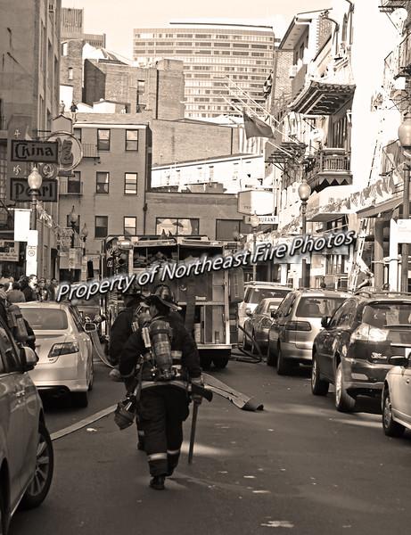 Boston- W/F Chinatown, 4th in Dorch-10/10/11