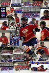 JT Bergeron,,  Designed for a 20 x 30 Poster
