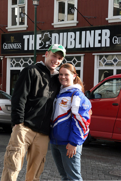 Downtown Reykjavik, a favorite bar for Americans and the Locals alike.<br /> <br /> The Dubliner