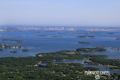 Boston Harbor Islands from Hingham