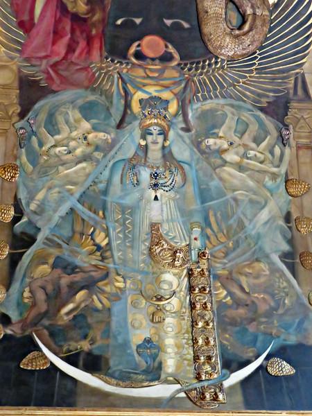 Astarte -- Detail of John Singer Sargent's Pagan Gods mural, Boston Public Library