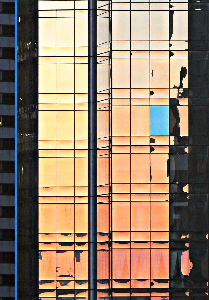 Sunset Mondrian