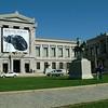 Outside the Museum of Fine Arts ~ Boston, MA