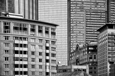 Downtown Boston Architecture.