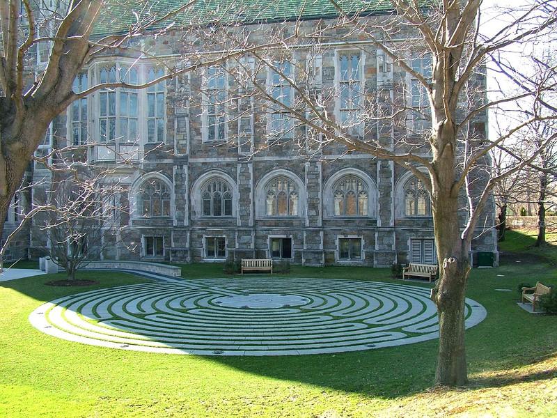 Boston College Labyrinth