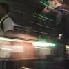 inside the MBTA commuter rail ~ Boston