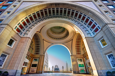 Rowes Wharf, Boston Massachusetts.