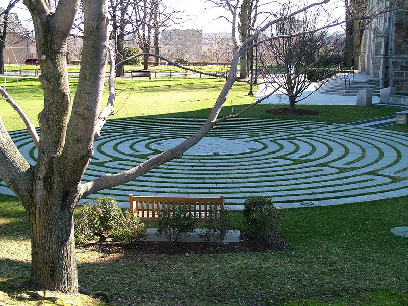 Labyrinth at Boston College