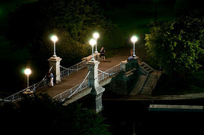 The Lagoon Bridge in Night.
