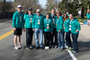 Local residents volunteering at Mile 15 water station. Jared Holllenbeck (lakeville), Ed Carey (Lakeville) Walter and Phyllis Young (Middleboro) Bud Morton (Lakeville) Lynn Lidonni (Lakeville), Christion Marag (Lakeville) and Jane Brown ( Middleboro)