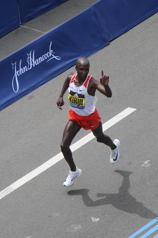 Boston Marathon 2017 by Raymond Britt
