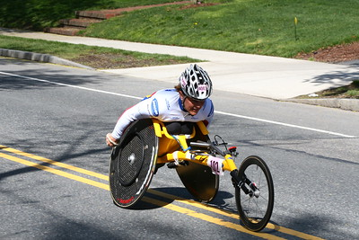 Diane Roy, 2nd in Women's Wheelchair