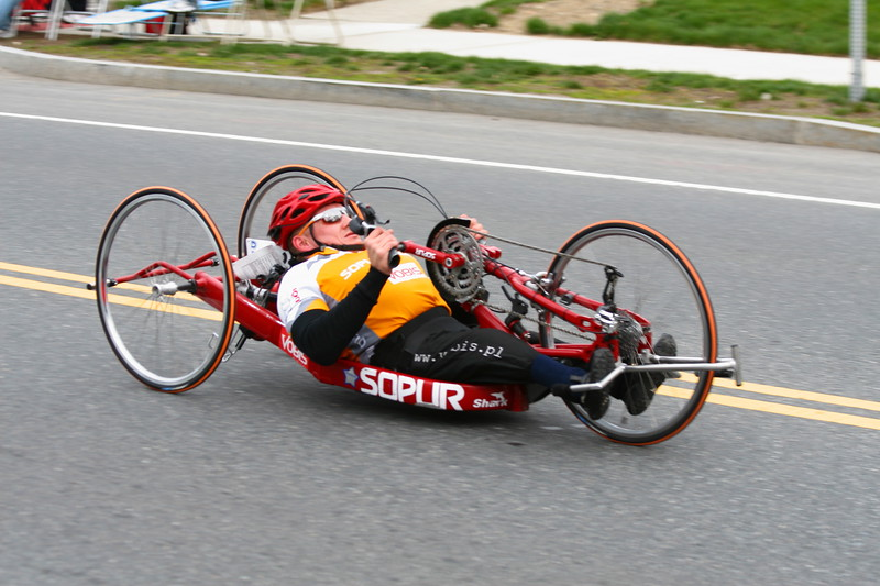 The Boston Marathon became the first major marathon to include a wheelchair division competition in 1975.