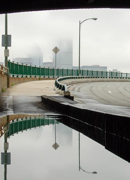 Puddle under the bridge