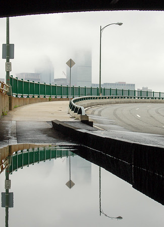 Puddle under the bridge