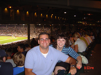 Matt_DeConciliis_and_Jodi_Mackie_Wrigley_Field_07-15-04