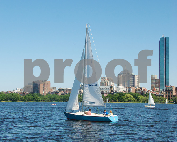 Sailing away!