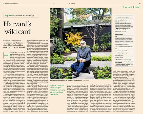 Financial Times Weekend