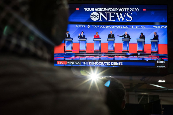 Democratic Presidential Candidate Debate