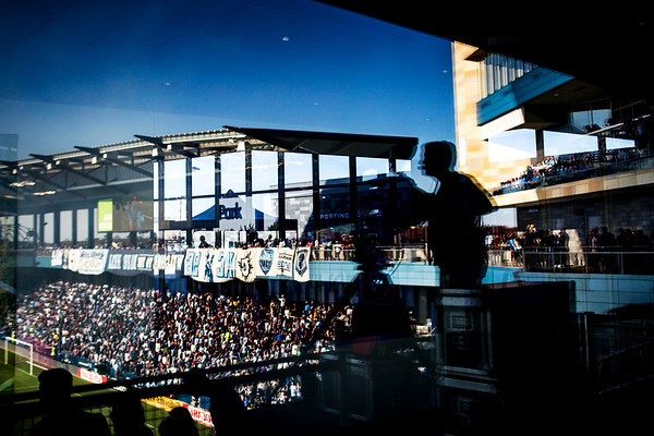 Scenes before the game between Sporting KC and the San Jose Quakes at Children's Mercy Park on October 23, 2016 in Kansas City, Kansas. Photo by Adam Glanzman for Quartz