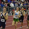 Miller Anderson leads Malcolm Going in the 800m.