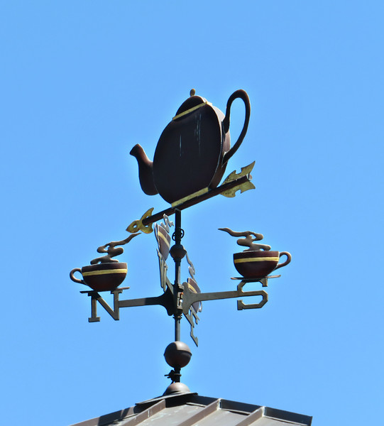 Boston Tea Party Museum Weather Vane