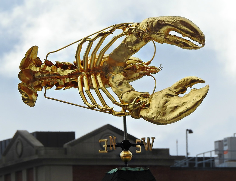 James Hook & Co. Fish Market Weather Vane