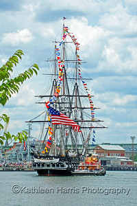 USS Constitution, 4th of July