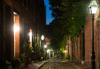 Acorn St, Beacon Hill, Boston