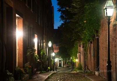 Acorn St, Beacon Hill, Boston