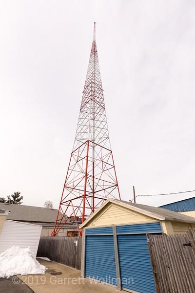 WJIB tower