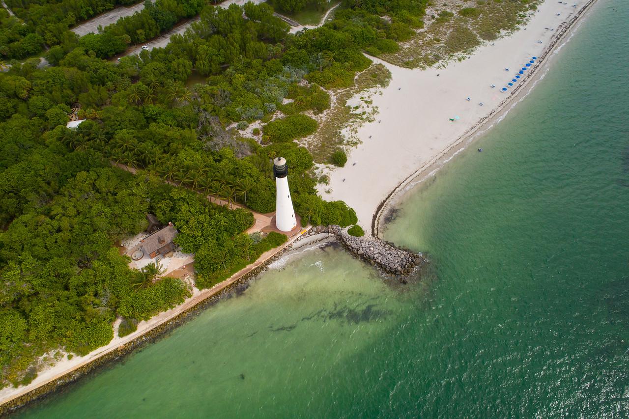 Cape Florida Key Biscayne lighthouse