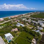 Aerial image of Hutchinson Island Florida